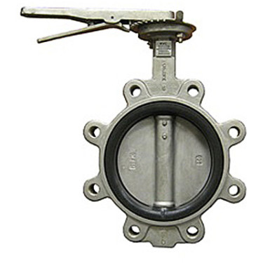 200 WOG Lug Stainless Steel Butterfly Valve with Lever Handle