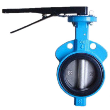 200 WOG Wafer Style Butterfly Valve with Lever Handle