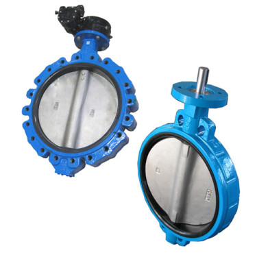 large diameter butterfly valve
