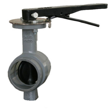 300 WOG Grooved End Butterfly Valve with Lever Handle