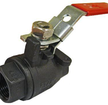 2 Piece 2000 PSI Ball Valve, Carbon Steel Ball Valve