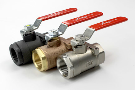 industrial steam service ball valves, lance valves