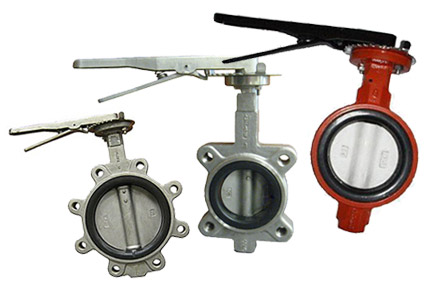 industrial butterfly valves, lance valves